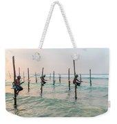 Stilt Fishermen - Sri Lanka Weekender Tote Bag