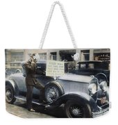 Stock Market Crash Weekender Tote Bag
