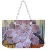 Stone Flower Weekender Tote Bag