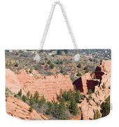 Stone Quarry At Red Rock Canyon Open Space Park Weekender Tote Bag