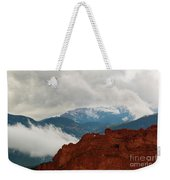 Storm Brewing At Garden Of The Gods Weekender Tote Bag