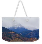 Storm Clouds On Pikes Peak Weekender Tote Bag