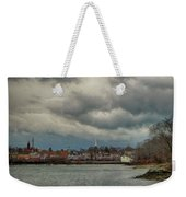 Storm Clouds Over The Bass River Weekender Tote Bag
