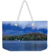Storm Clouds Over The Lake Of Bays Weekender Tote Bag