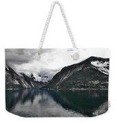 Storm In The Fiord Weekender Tote Bag