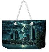 Storm Over Frankfurt Weekender Tote Bag