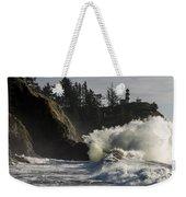 Storm Surf Weekender Tote Bag