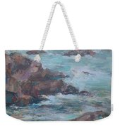 Stormy Sea Seascape Weekender Tote Bag