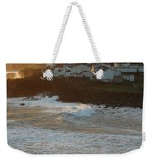 Stormy Weather In Azores Weekender Tote Bag