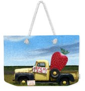 Strawberry Truck Weekender Tote Bag