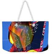 Street Light And Fireworks As Art Weekender Tote Bag