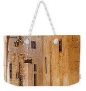Street Sceane Mdina,malta Weekender Tote Bag