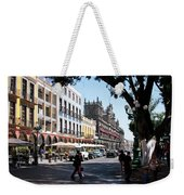 Streets Of Puebla 5 Weekender Tote Bag