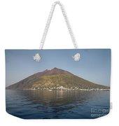 Stromboli Volcano, Aeolian Islands Weekender Tote Bag