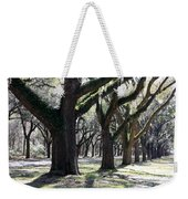 Strong Trees In The South Weekender Tote Bag