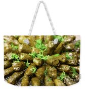 Stuffed Vine Leafs  Weekender Tote Bag