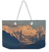Stunning Countryside Of Northern Italy With The Alps  Weekender Tote Bag