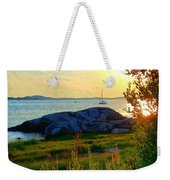Summer Sunset View Weekender Tote Bag