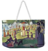Sunday Afternoon On The Island Of La Grande Jatte Weekender Tote Bag by Georges Pierre Seurat