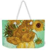 Sunflowers By Van Gogh Weekender Tote Bag