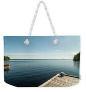 Sunny Day At The Dock Weekender Tote Bag