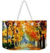 Sunny October Weekender Tote Bag