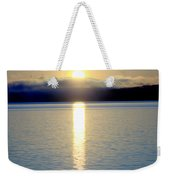 Sunrise 6 8 17 Malletts Bay Weekender Tote Bag