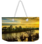 Sunrise On The Payette River Weekender Tote Bag