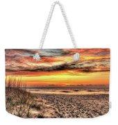 Sunrise Outer Banks Of North Carolina Seascape Weekender Tote Bag