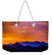 Sunrise Over Colorado Rocky Mountains Weekender Tote Bag