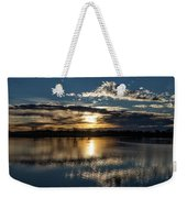 Sunrise Reflections On The Great Plains Weekender Tote Bag