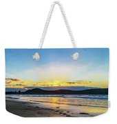 Sunrise Seascape And Crepuscular Rays Weekender Tote Bag
