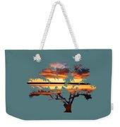 Sunrise Tree Weekender Tote Bag