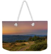 Sunset Above Craigs Hut  In The Victorian Alps, Australia Weekender Tote Bag