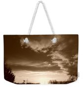 Sunset And Clouds Weekender Tote Bag