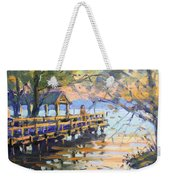 Sunset At Fishermans Park Weekender Tote Bag