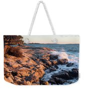 Sunset At Ocean Point, East Boothbay, Maine  -230204 Weekender Tote Bag