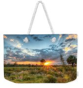 Sunset At The Field Of Dreams Weekender Tote Bag