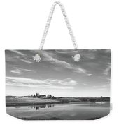 Sunset Clouds Over Wyoming Weekender Tote Bag