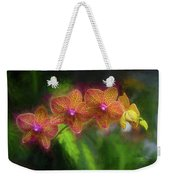 Sunset Doritaenopsis Orchid Weekender Tote Bag