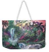 Sunset Falls Weekender Tote Bag