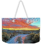 Sunset In El Prado Weekender Tote Bag