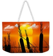 Sunset Lake Weekender Tote Bag