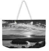 Sunset On The Niangua Weekender Tote Bag