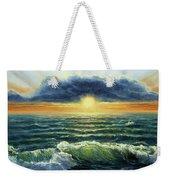 Sunset Over Ocean Weekender Tote Bag