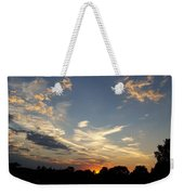 Sunset Sky Over Ohio Weekender Tote Bag