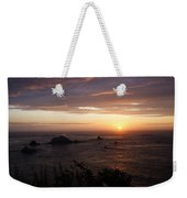 Sunset Watch Weekender Tote Bag