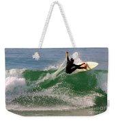 Surfer Weekender Tote Bag by Carlos Caetano