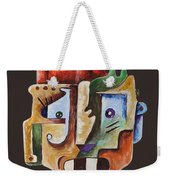 Surrealism Head Weekender Tote Bag