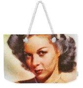 Susan Hayward, Vintage Hollywood Actress Weekender Tote Bag